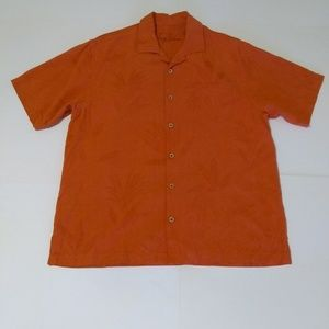 Used Men's Tommy Bahama Silk Button Down Shirt